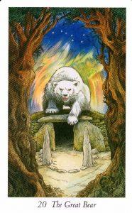 20 Аркан Великий Медведь Таро Дикого Леса - The Wildwood Taro