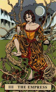 3 Аркан Императрица The English Magic Tarot Таро Английской Магии