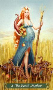 3 Аркан Мать Земля The Green Witch Tarot (Таро Зеленой Ведьмы)