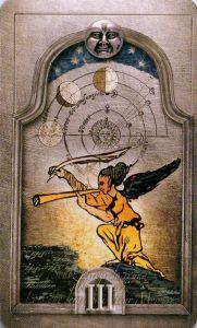 3 Лун Утраченное Таро Нострадамуса