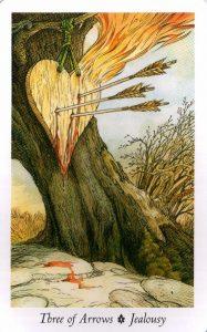 3 Стрел Таро Дикого Леса - The Wildwood Taro