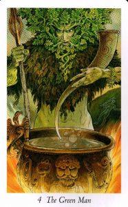 4 Зеленый Человек Таро Дикого Леса - The Wildwood Taro