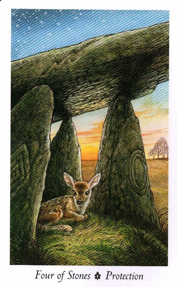 4 Камней Таро Дикого Леса - The Wildwood Taro
