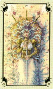 4 Мечей Таро Семи Звезд Mystical Manga Tarot
