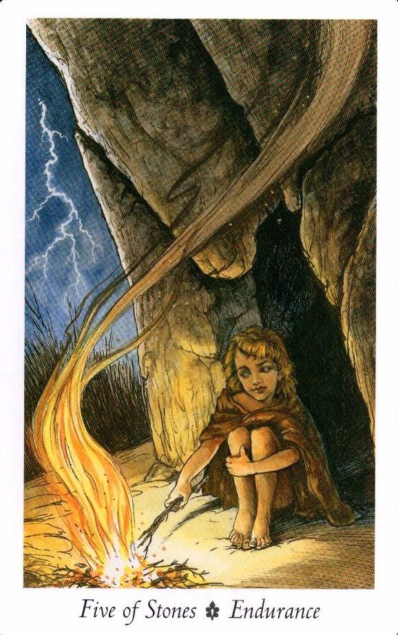 5 Камней Таро Дикого Леса - The Wildwood Taro