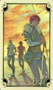 5 Мечей Таро Семи Звезд Mystical Manga Tarot