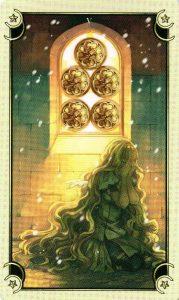 5 Монет Таро Семи Звезд Mystical Manga Tarot