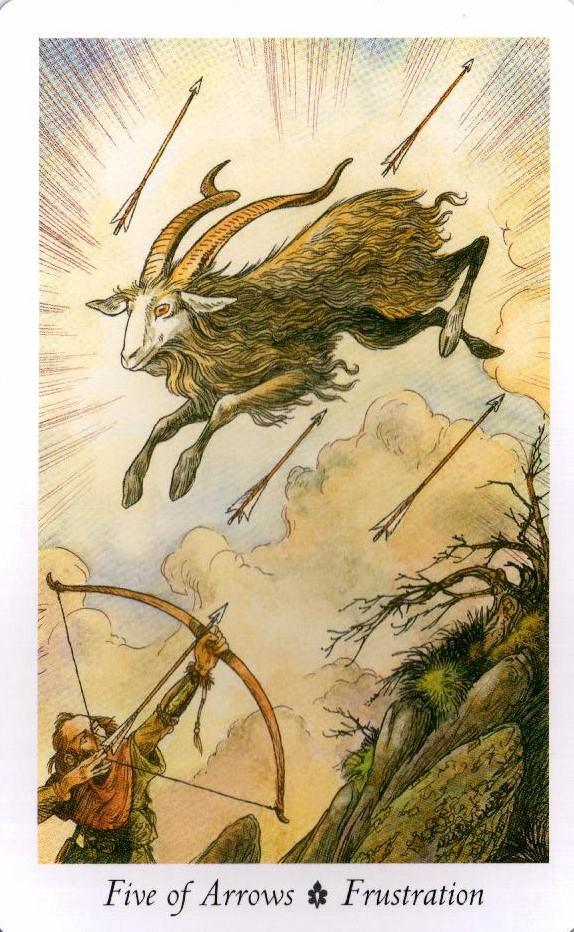 5 Стрел Таро Дикого Леса - The Wildwood Taro