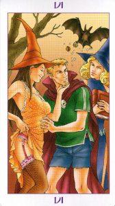 6 Аркан Влюбленные Ведьмовское Таро Witchy Tarot