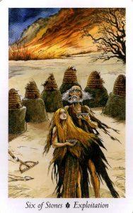 6 Камней Таро Дикого Леса - The Wildwood Taro