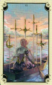 6 Мечей Таро Семи Звезд Mystical Manga Tarot