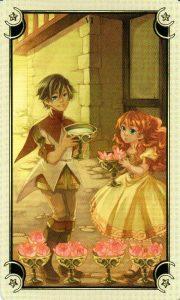 6 Чаш Таро Семи Звезд Mystical Manga Tarot