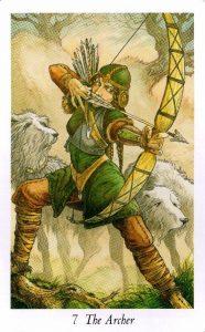 7 Аркан Лучник Таро Дикого Леса - The Wildwood Taro