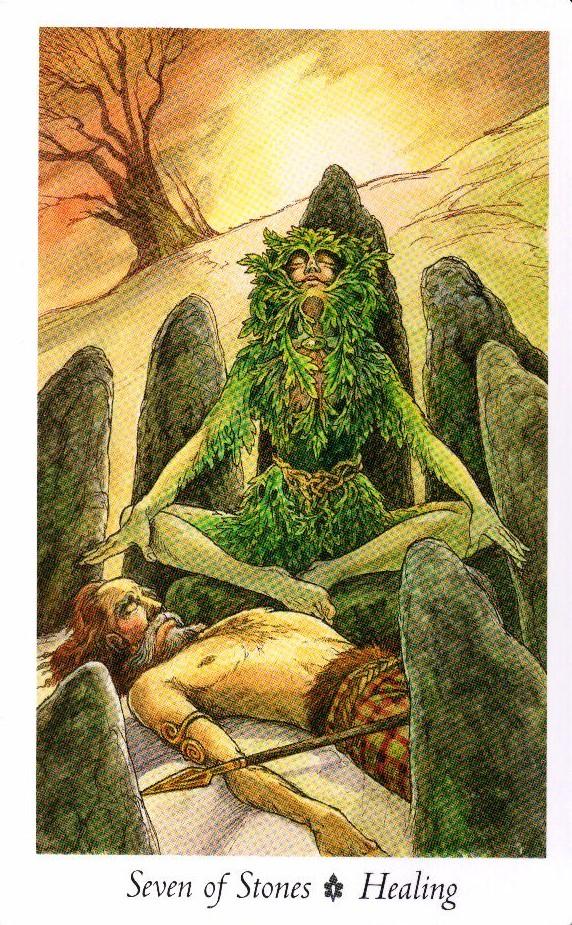 7 Камней Таро Дикого Леса - The Wildwood Taro