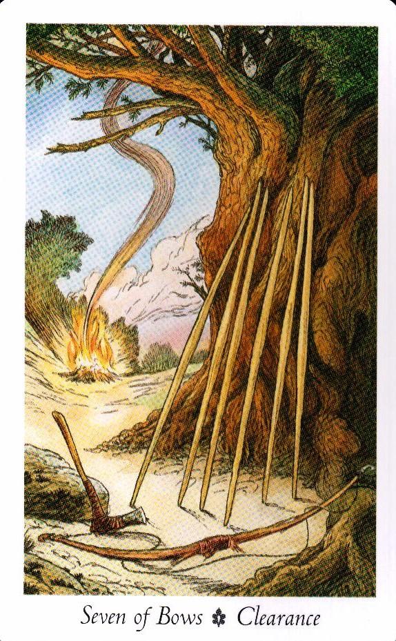7 Луков Таро Дикого Леса - The Wildwood Taro