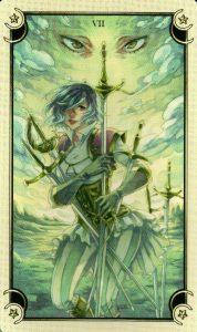 7 Мечей Таро Семи Звезд Mystical Manga Tarot