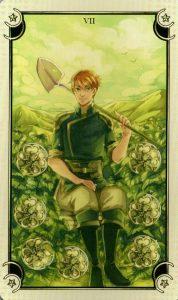 7 Монет Таро Семи Звезд Mystical Manga Tarot