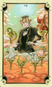 7 Чаш Таро Семи Звезд Mystical Manga Tarot