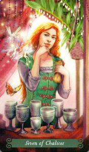 7 Чаш The Green Witch Tarot (Таро Зеленой Ведьмы)
