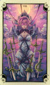 8 Мечей Таро Семи Звезд Mystical Manga Tarot