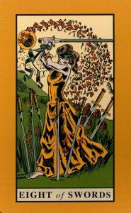 8 Мечей The English Magic Tarot Таро Английской Магии
