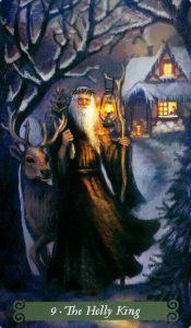 9 Аркан Холли Кинг The Green Witch Tarot (Таро Зеленой Ведьмы)