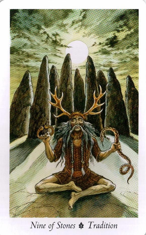 9 Камней Таро Дикого Леса - The Wildwood Taro