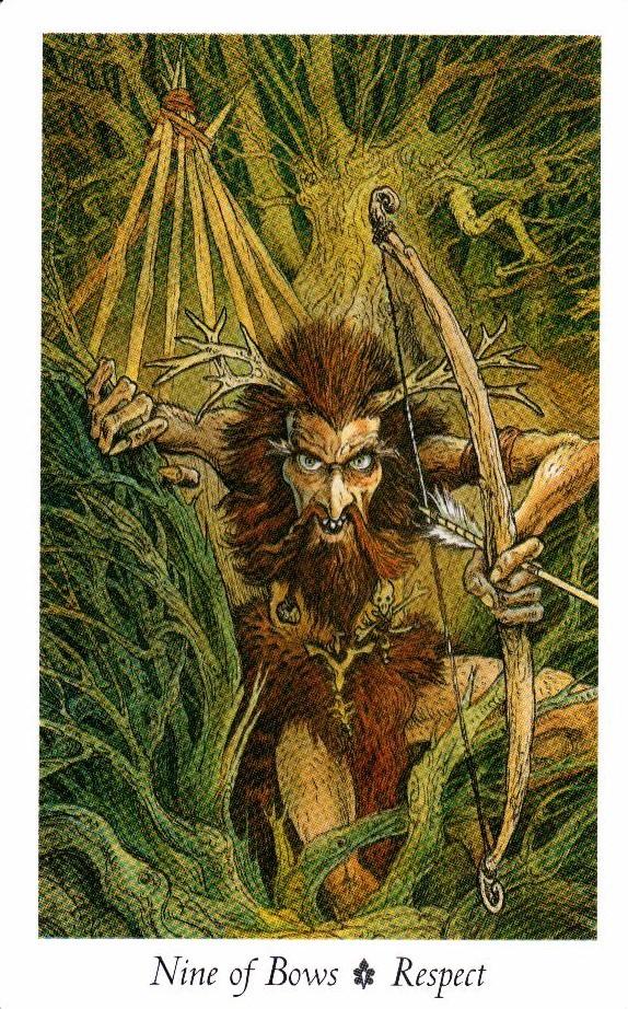 9 Луков Таро Дикого Леса - The Wildwood Taro