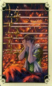 9 Мечей Таро Семи Звезд Mystical Manga Tarot