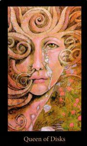 Королева Дисков The Mary-el Tarot