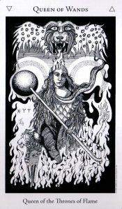 Королева Жезлов The Hermetic Tarot