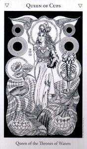 Королева Кубков The Hermetic Tarot