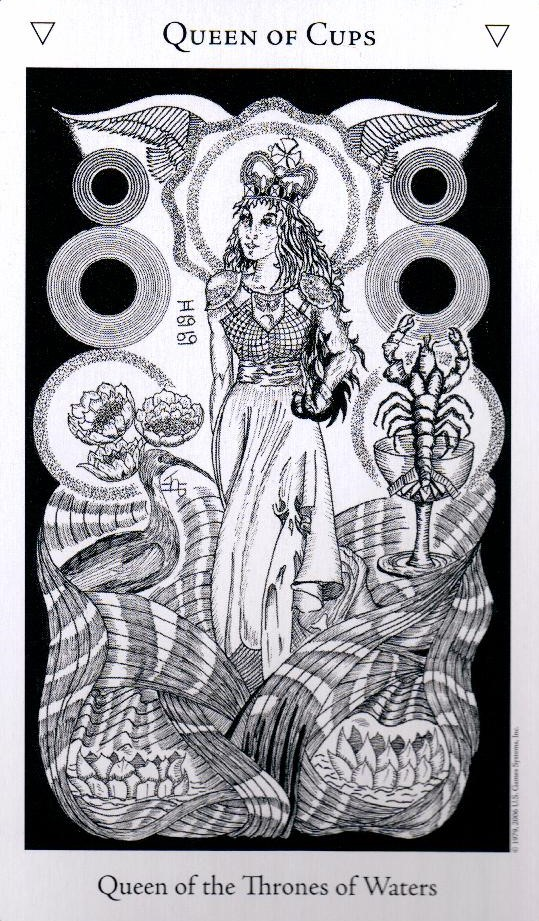 Королева Кубков The Hermetic Tarot