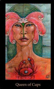 Королева Кубков The Mary-el Tarot