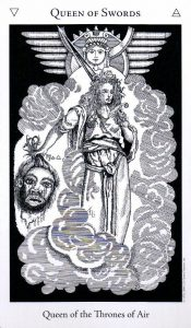 Королева Мечей The Hermetic Tarot