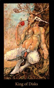 Король Дисков The Mary-el Tarot