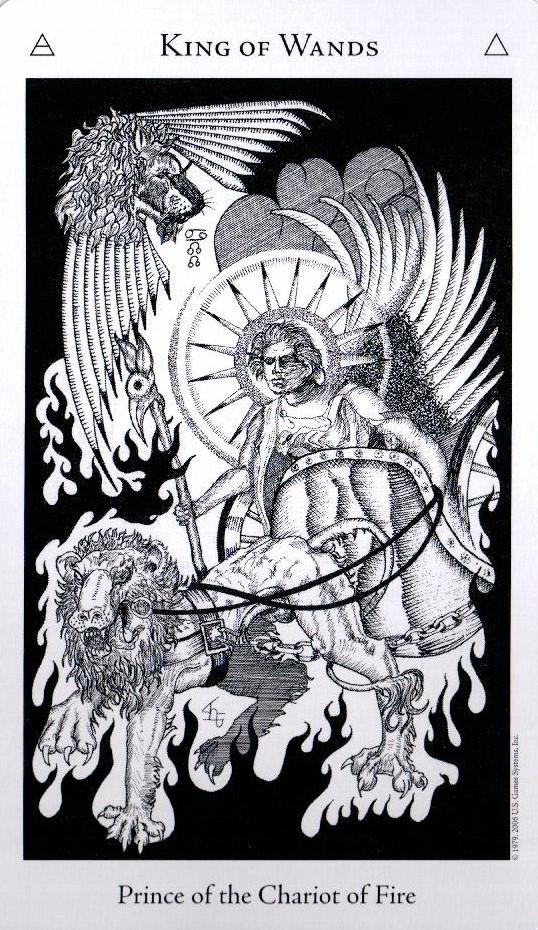 Король Жезлов The Hermetic Tarot