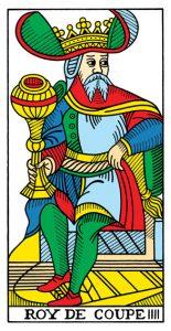 Король Кубков Марсельское Таро Конвера-Бен-Дова