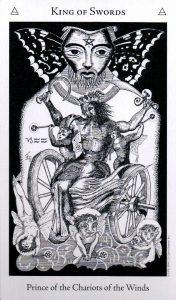 Король Мечей The Hermetic Tarot
