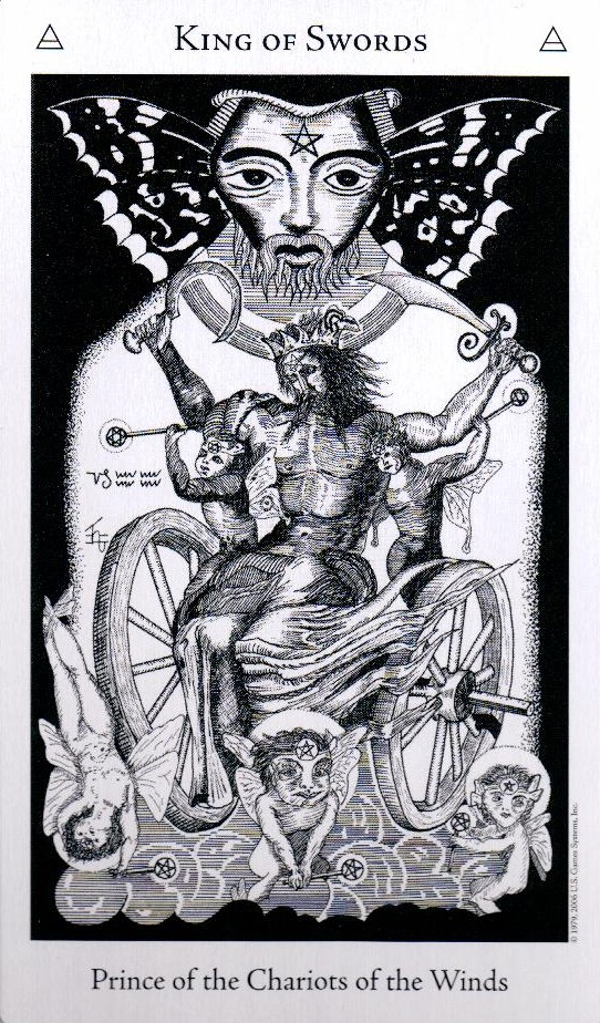 Король Мечей The Hermetic Tarot