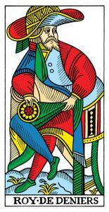 Король МонетМарсельское Таро Конвера-Бен-Дова