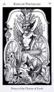 Король Пентаклей The Hermetic Tarot