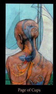 Паж Кубков The Mary-el Tarot