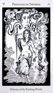 Принцесса Мечей The Hermetic Tarot