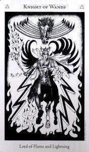 Рыцарь Жезлов The Hermetic Tarot