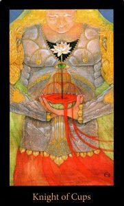Рыцарь Кубков The Mary-el Tarot