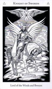 Рыцарь Мечей The Hermetic Tarot