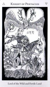 Рыцарь Пентаклей The Hermetic Tarot