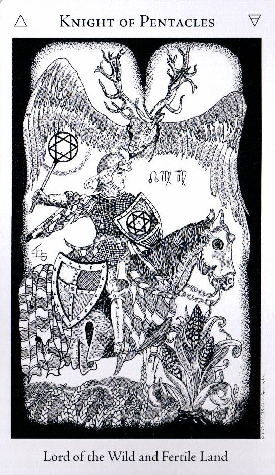 Рыцарь Пентаклей The Hermetic Tarot