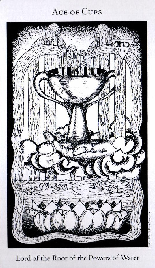 Туз Кубков The Hermetic Tarot
